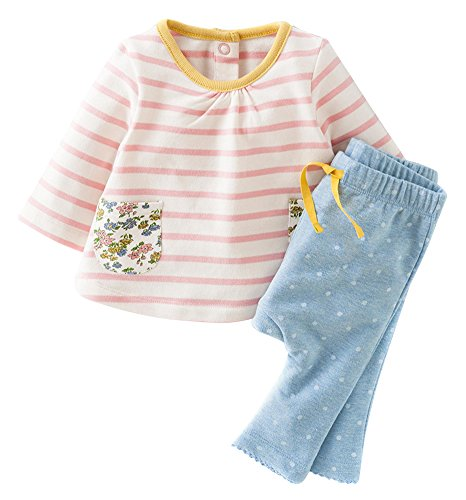 Fiream Girls Autumn Cute Print Long Sleeve Clothing Set(20061TZ,5T)