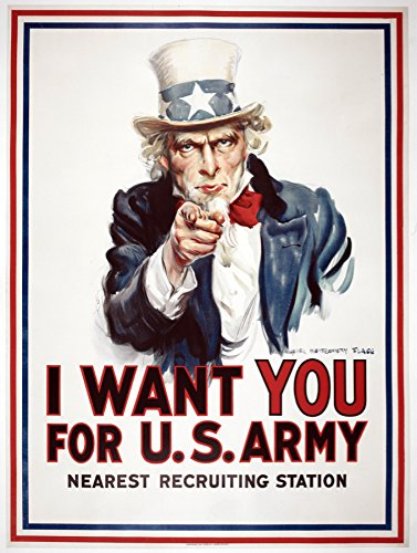 "Short Run Posters 24""x36"" Poster home decoration.I want you"