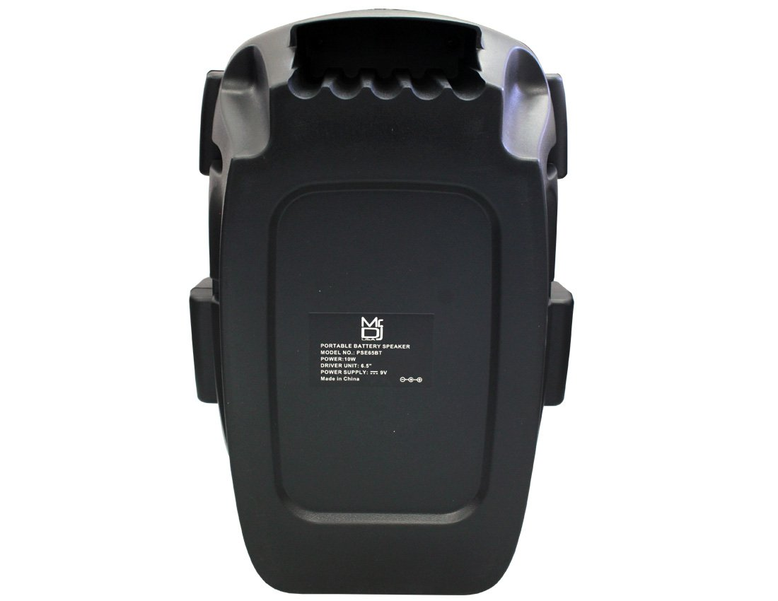 Mr. Dj PSE65BT 6.5'' Portable Active Speaker with Rechargeable Battery 1000W P.M.P.O, 1'' by Mr. Dj (Image #5)