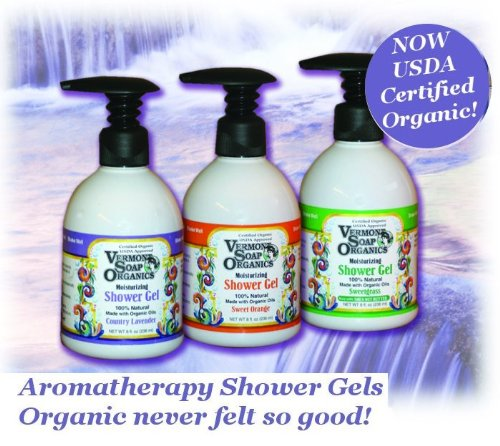 Lavender Ecstasy Organic Moisturizing Shower Gel - 8 oz. - 3 Pack!