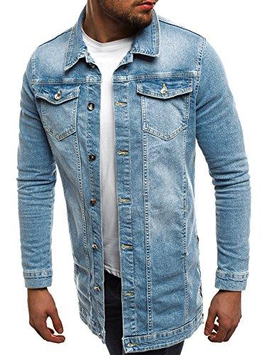 Style Cuero Jacket Vaquera claro Chaqueta Azul ot Chaqueta Chaqueta 3056 ozonee Chaqueta OZONEE Invierno para 2020 de Mix J de Capucha con Hombres Hx7nw6aYq