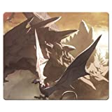 26x21cm 10x8inch Mouse Mat cloth rubber rubber and cloth Strong flexible Dragon's Dogma