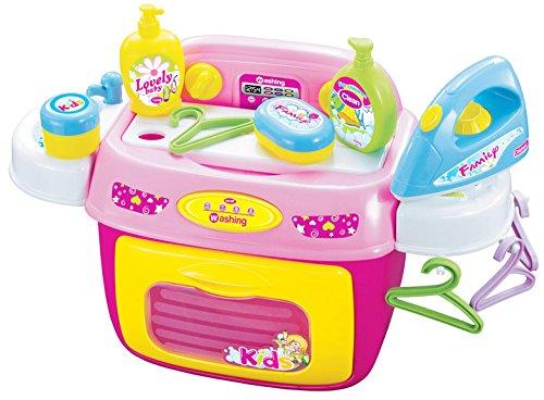Kinderwaschmaschine - Dominiti Haushaltsset mit Waschmaschine