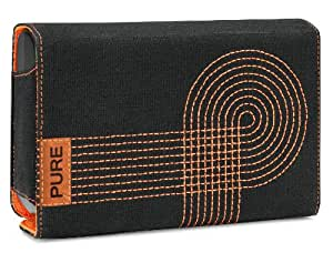 Pure Canvas - Funda de protección para Pure One Mi Radio, color negro y naranja