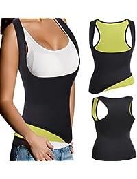 Sweat Neoprene Waist Trainer Cincher Hot Slimming Sauna Vest Shaper, Fat Burning Tummy Control Corset