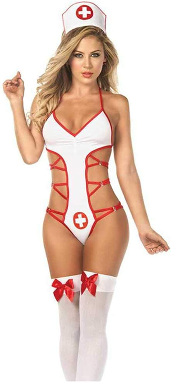 Enfermera Disfraz Erótico Maid Uniforme Cosplay Disfraces ...