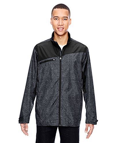 (North End Interactive Sprint Printed Lightweight Jacket (88805) -CARBON 456 -L)