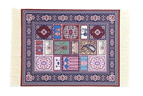 Unique Rug Mouse Pads - Oriental & Turkish Design Carpet Mousemats Computer Mats ()