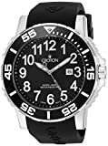 Croton Men's CA301280BSBK Analog Display Quartz Black Watch
