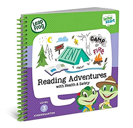 LeapFrog LeapStart Kindergarten Activity Book Reading Adventures And Health Safety