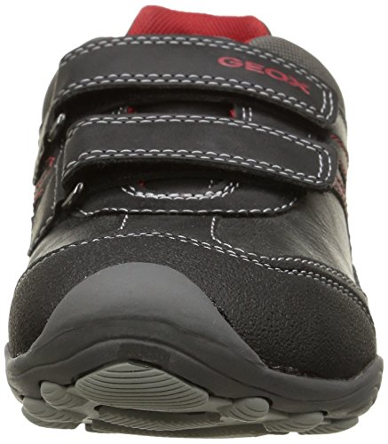 Geox Jr Arno  - Zapatillas de deporte para niño Grey/Red