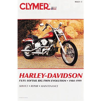 Davidson Heritage Springer 1997 Harley (Clymer Repair Manuals for Harley-Davidson Softail Heritage Springer FLSTS 1997-1999)