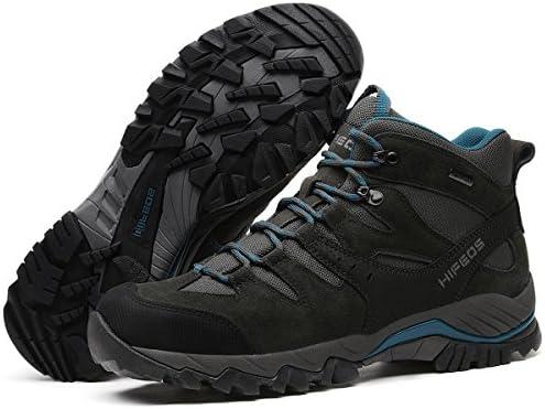 トレッキングシューズ メンズ レディース 防水 ハイカット 28.0cmまで 幅広 大きいサイズ ダイヤル 防滑/登山靴/通気性/耐磨耗/衝撃吸収/軽量 アウトドア/ハイキング/山歩き/里歩き/登山道