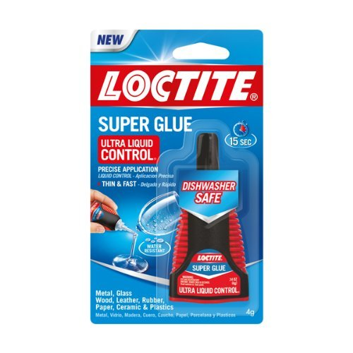 (Loctite Super Glue Ultra Liquid Control, 4 Grams, 3-Pack)