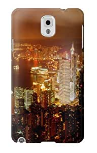S0904 Night New York Case Cover for Samsung Galaxy Note 3