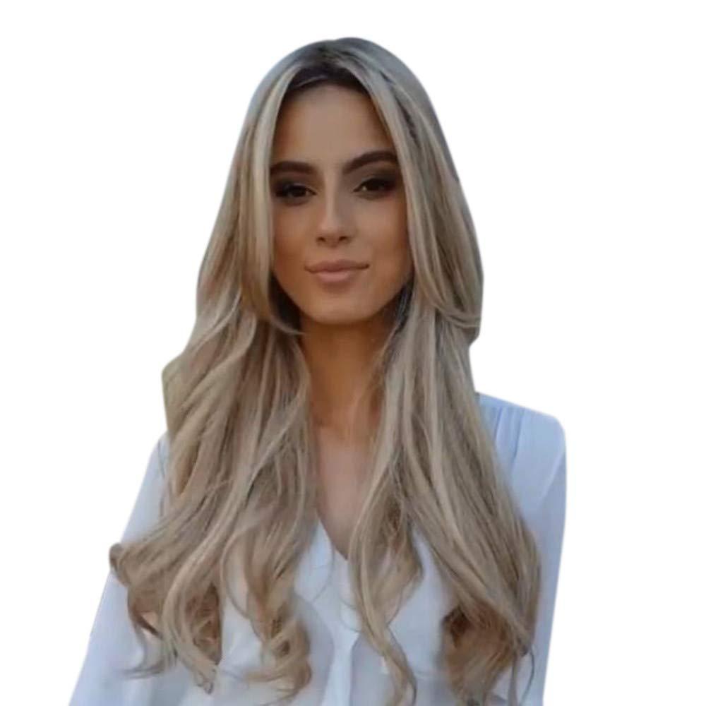 Amazon.com : VonVonCo Fashion Womens Curly Hair Full Wig ...
