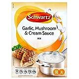 Schwartz Garlic, Mushroom & Cream Sauce Mix (26g)