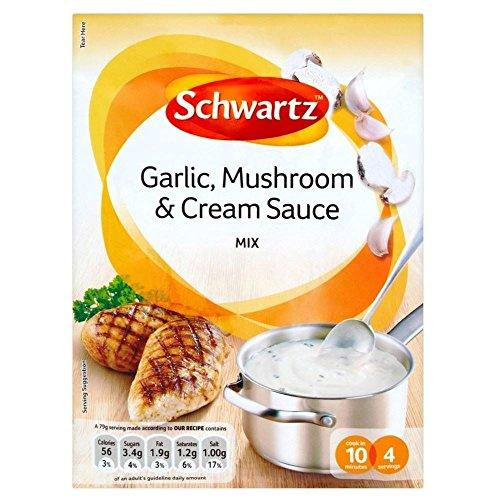 Schwartz Garlic, Mushroom & Cream Sauce Mix (26g) - Pack of ()