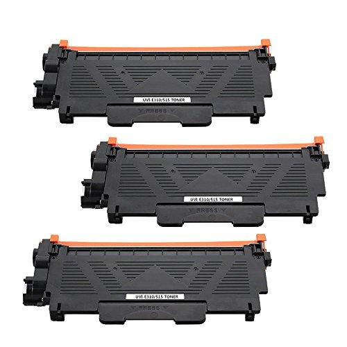 (3 Pack Compatible E310 E514 E515 Toner Replacement for Dell E310dw E514dw E515dw E515dn Toner Cartridge(Dell PVTHG, 593-BBKD, P7RMX), 2,600 Pages -by UniVirgin)