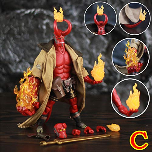 PAPIN HB Figure 6 inch Hot Toys Movie Series Action Figures Christmas Halloween Collectibles Mini Small Model Doll Toy Collectable Gift Big Large Collectible Gifts for Kids Baby Boys (No Box)
