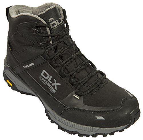 Renton Boots Boots Blk Black Hiking Lightweight Mens Walking Waterproof Trespass Rd6q6