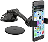 Arkon Windshield or Dash Smartphone Car Mount for Apple iPhone 6 Plus/6/5/5S/5C, Samsung
