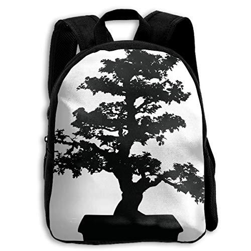 Tree Clipart - BINGZHAO Japanese Tree Clipart School Bag Bookbag Backpack Daypack for Kids Girls Boys