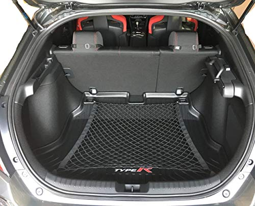 Trunknets Inc- Floor Style Trunk Cargo Net for Honda Civic Hatchback 5 Door 2017 2018 2019 New - Honda Civic Cargo Net