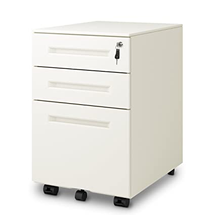 Delicieux DEVAISE 3 Drawer Mobile Pedestal File Cabinet With Lock, Legal/Letter Size