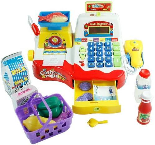 Inside Out Toys Caja registradora de Juguete para niños - Rojo ...