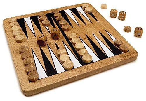 Bamboo Classics Eco-Friendly Backgammon Board Game