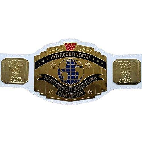 ADX Replica WWE/WWF - Cinturón de Piel para Adulto