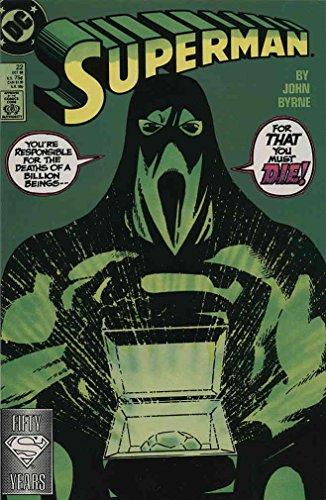 - Superman (2nd Series) #22 VF ; DC comic book