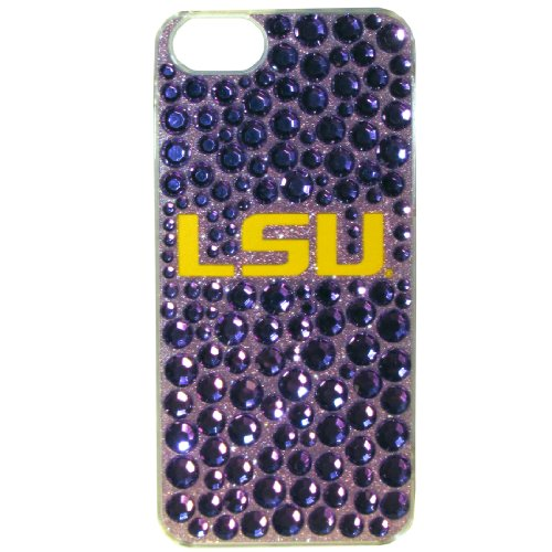 Siskiyou NCAA LSU Tigers iPhone 5/5S Dazzle Snap on Case