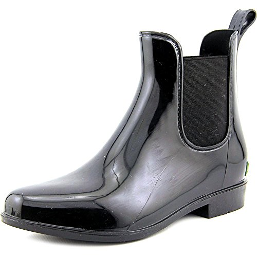 Lauren by Ralph Lauren Womens Tally Round Toe Ankle Rainboots, Black, Size 8.0 (Ralph Lauren Boots Rain)