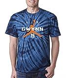 """The Silo NAVY TIE-DYE Tony Gwynn San Diego """"Air"""" T-Shirt"""
