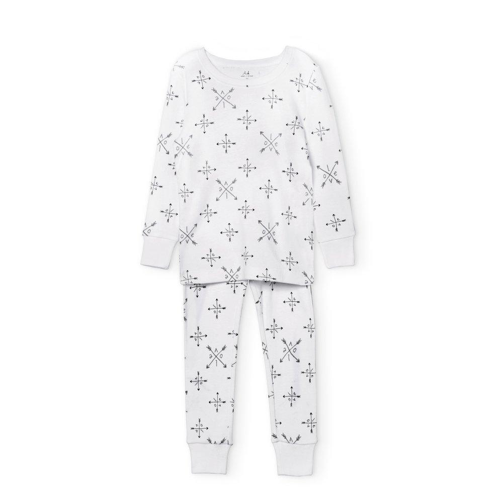 aden + anais Pajama Set, 2 Piece, 100% Cotton Sleepwear, Love, Size 18M