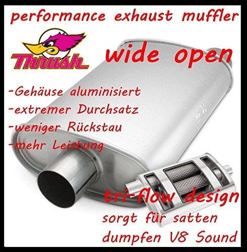 super dumpfer V8 Sound 2 SPORT AUSPUFFTOPF wide open