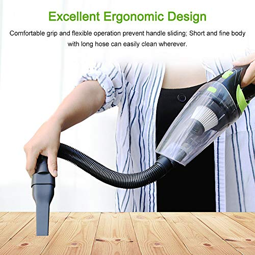 KENTT 220V Car Home Use Vacuum Cleaner Dust Catcher For Dry Wet Dust Dirt Cordless Handheld Dust Collector Portable Vacuum Sweeper