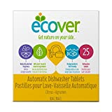 Ecover Automatic Dishwashing Tablets, Citrus, 25 Count (Packaging may Vary)