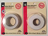 CESDes Bundle Stitch Witchery Ultra and Regular fusible bonding tapes 5/8' x 20yds (qty 2)
