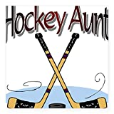 CafePress - HOCKEY AUNT Square
