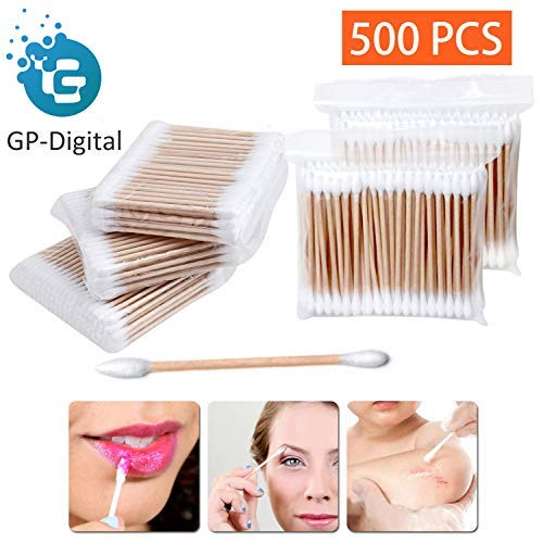 - 500 Pieces Double Tipped Cotton Swabs, 3