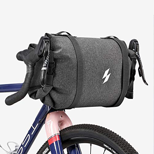 Sahoo 112008 Bike Handlebar Pack Water Resistance 3L-5L Capacity Adjustable Front Bike Bag