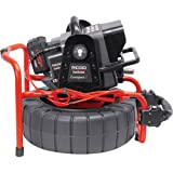 RIDGID 48103 SeeSnake Compact2 System with Self-Leveling Pipe Inspection Camera and Sonde (Transmitter) for Pipe Location (Battery Sold Separately)