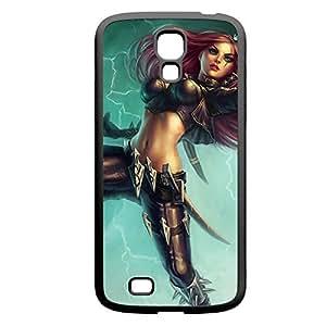 Katarina-001 League of Legends LoL Samsung Galxy S4 I9500/I9502 Rubber Black