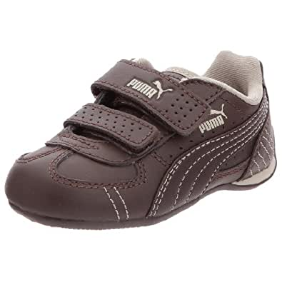 Puma Kids Racer L - Zapatillas, color Marrón, talla 25