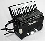 Excalibur Crown Series 72 Bass Mussette Piano Accordion