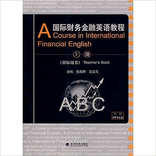 Book English Course on International Finance Volume (Teacher's Book) 1MP3