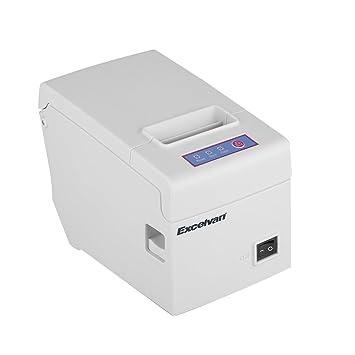 Excelvan E58 - Impresora térmica de recibos y tickets (58 mm ...